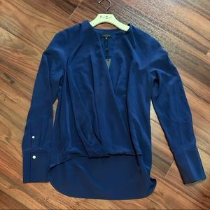Rag & Bone Blue Max Blouse. Size M. NWT. $400.